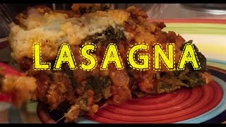 Dollar Store Meals Lasagna