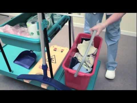 Nursing home room maintenance