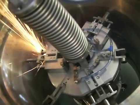 Machining Robot Crawler For Internal Pipe Grinding Of