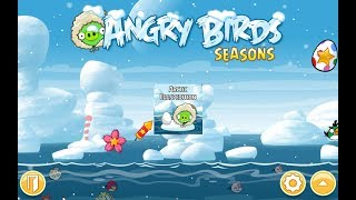 Angry Birds Seasons. Arctic Eggspedition (level 1-8) 3 stars Прохождение от SAFa