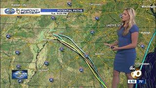 10news Pinpoint Weather Jennifer Delacruz