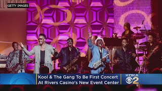 New Rivers Casino Event Center To Open With Kool & The Gang Concert