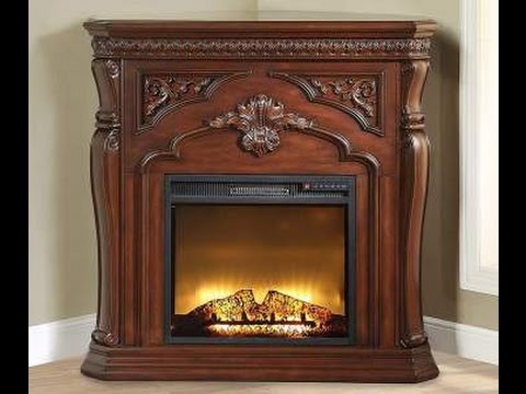 Electric Fireplace Mantels Big Lots  YouTube