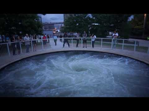 Anish Kapoor Descension Whirlpool Brooklyn Bridge Park July 17, 2017