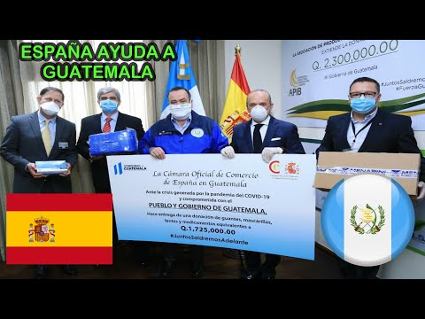 ¿Por qué muchos países están ayudando a Guatemala?