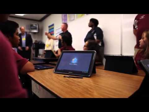 Classroom of the Future  Samsung School Transforms Learning at Eloy Intermediate School