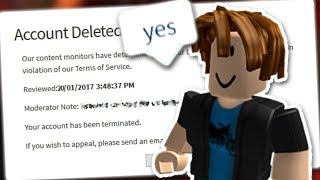 THE DUMBEST BANS ON ROBLOX (Trying To Get Banned)
