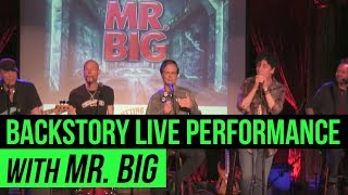 Mr Big share a stripped down live preview from The Cutting Room NYC...