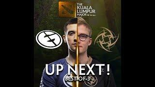 Evil Geniuses vs NIP Game 1 (BO3) | The Kuala Lumpur Major
