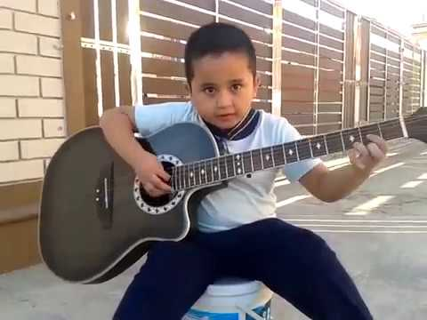 Metallica Nothing Else Matters cover by small kid (full song)