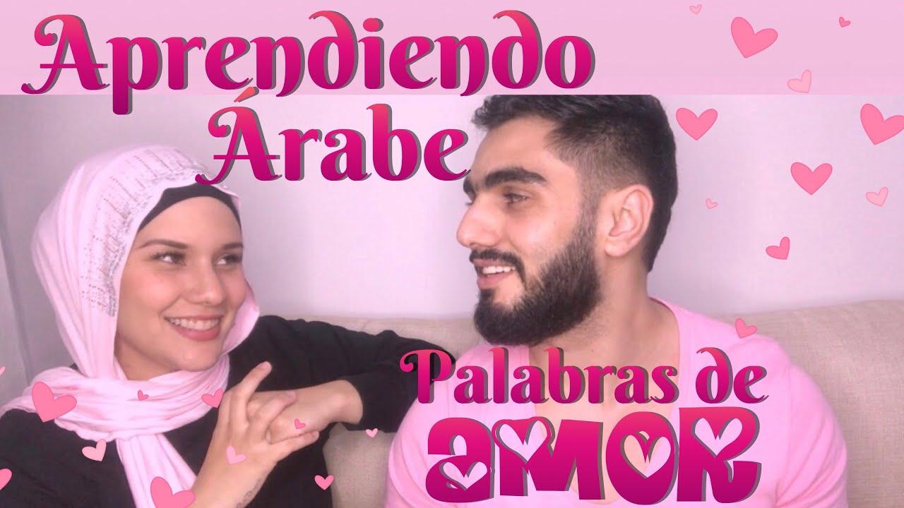 Aprendiendo árabe Palabras Y Frases De Amor