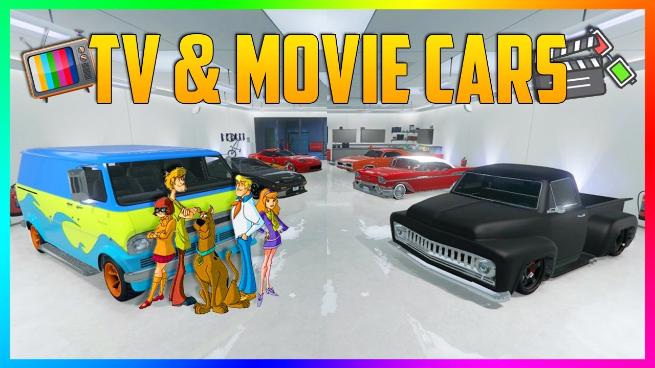 Best Movie Tv Cars You Can Buy In Gta Online Top 10 Gta Online Vehicles In Movies Tv Shows