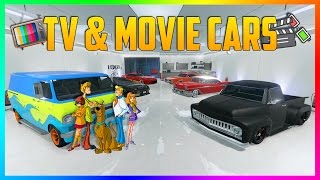 BEST MOVIE/TV CARS YOU CAN BUY IN GTA ONLINE - TOP 10 GTA ONLINE VEHICLES IN MOVIES \u0026 TV SHOWS!