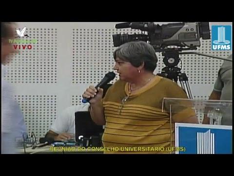 REUNIÃO DO CONSELHO UNIVERSITÁRIO DA UFMS (040718)