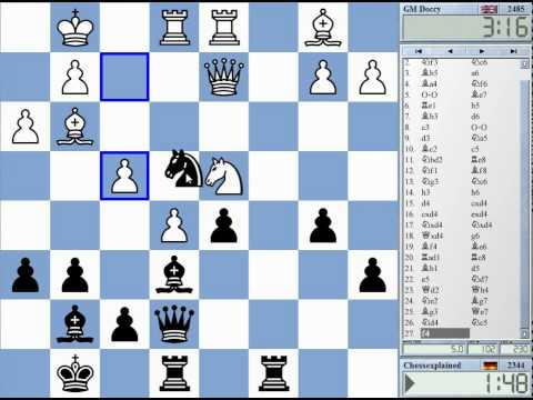 Blitz Chess #137 with Live Comments – Ruy Lopez Chigorin vs. GM Dr. John Nunn