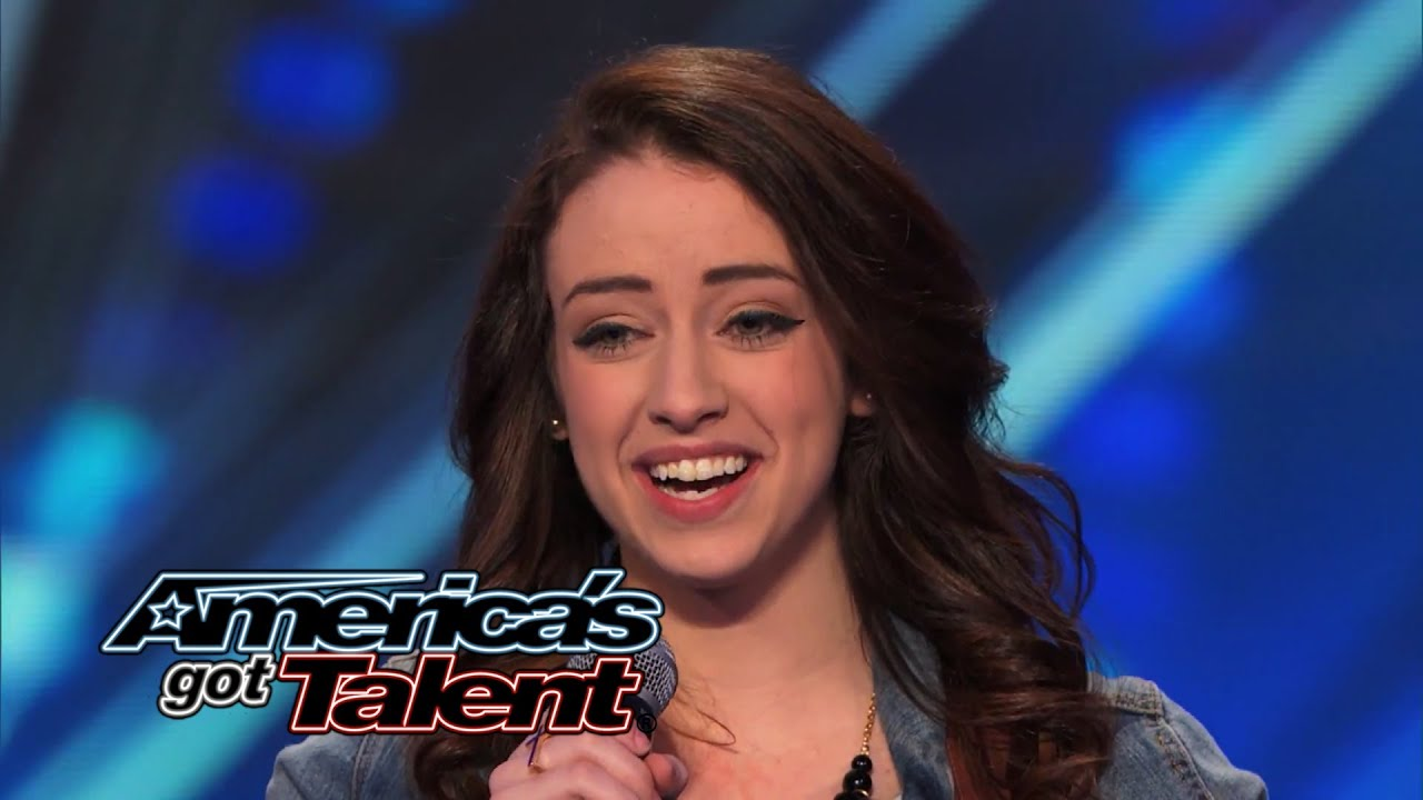Anna Clendening Nervous Singer Delivers Stunning Hallelujah Cover Americas Got Talent  Youtube