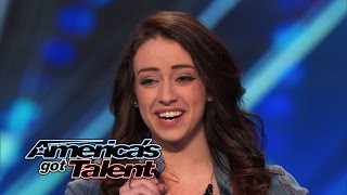 "Download Video Anna Clendening: Nervous Singer Delivers Stunning ""Hallelujah"" Cover - America's Got Talent 2014 MP3 3GP MP4"