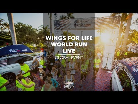LIVE - Wings for Life World Run 2018