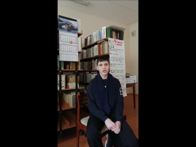 Изображение предпросмотра прочтения – ДмитрийРодоманов читает произведение «Явстретил вас— ивсе былое…» Ф.И.Тютчева