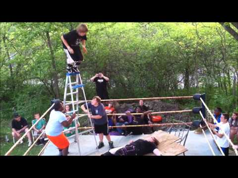 unw backyard wrestling jamie vs justin hair vs hair matc jamie 39 s