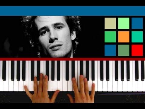 """How To Play """"Hallelujah"""" Piano Tutorial (Jeff Buckley ..."""