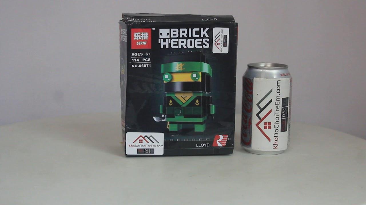 Mở hộp Lepin 06071 Lego NinJaGo 41487 Lloyd giá sốc rẻ nhất