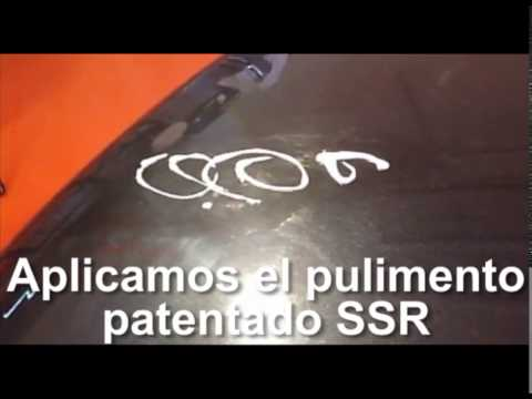 Ssr spain reparador de ara azos youtube for Reparador de aranazos