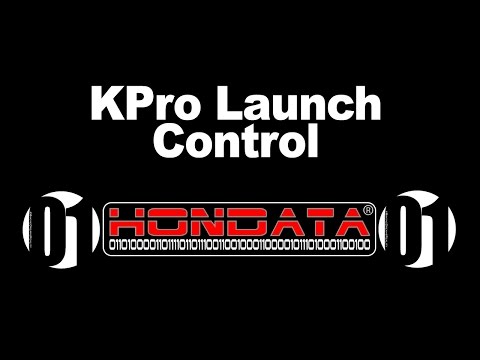 How to Setup Your Launch Control on KPro