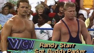 NWA WCW Saturday Night Wrestling 7/4/92