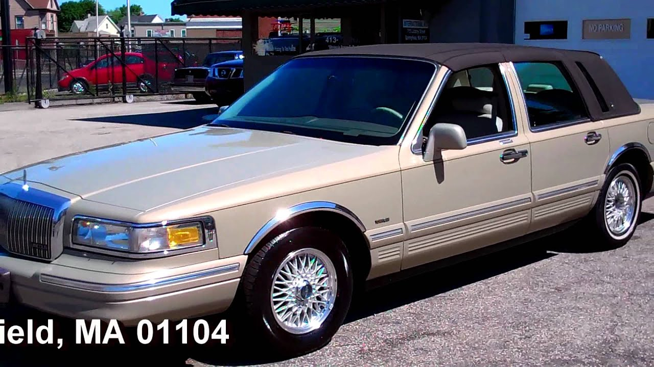 1996 Lincoln Town Car Signature Series Youtube