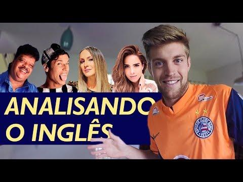 O inglês do Tim Maia, Dinho, Claudia Leitte e Wanessa Camargo - CANTAM BEM?