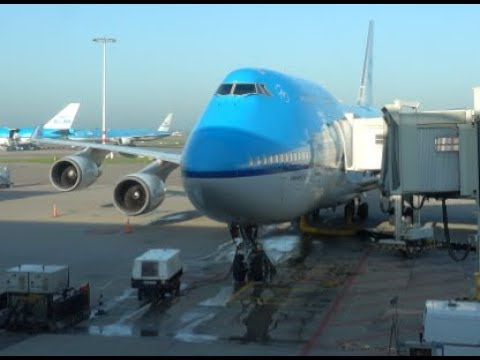 KLM Boeing 747-406M / Amsterdam Schiphol To Chicago O'Hare / 4K Video