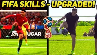 FIFA 18 World Cup Skills Upgraded By SkillTwins ft. Ronaldo ★
