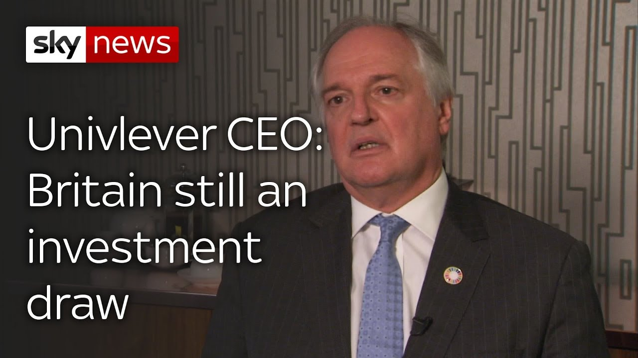 Unilever 'committed to major investment' in Britain