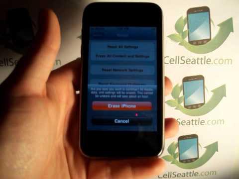 iphone 3gs quick reset