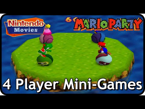 Mario Party 1 - All 4 Player Mini-Games