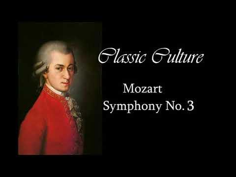 Mozart - Symphony Nº3 || Classic Culture