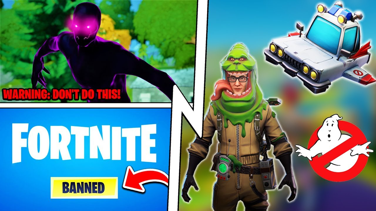 This will get you BANNED: Shadow Cheat, Ghostbusters x Fortnite, Ant Man!