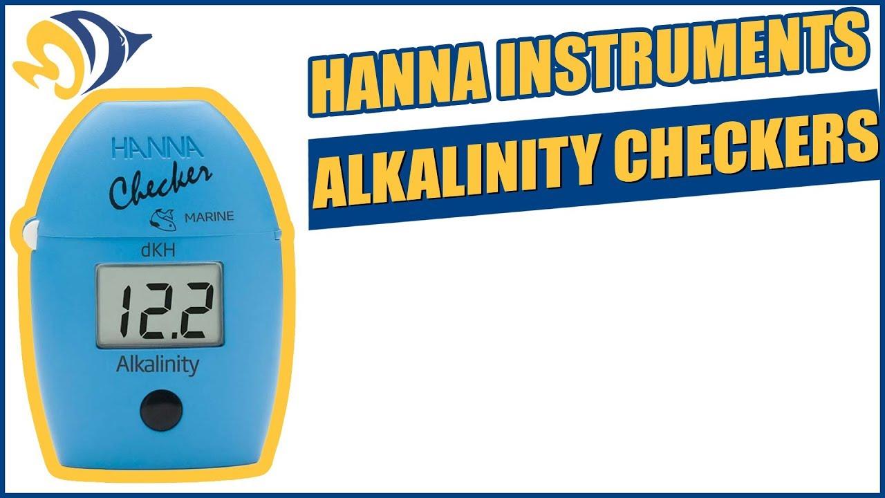 hanna instruments alkalinity checker product demo youtube