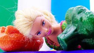 Приключения Барби на рынке. Видео для девочек