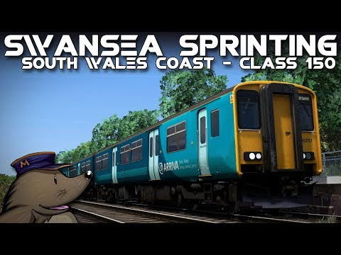 TS2018 | Swansea Sprinting | South Wales Coastal | ATW Class 150/2