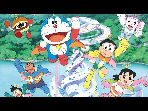 Doraemon Cartoon New Adventure Movies 2017 | Doraemon movie Nobita and Space Heroes movie Previews