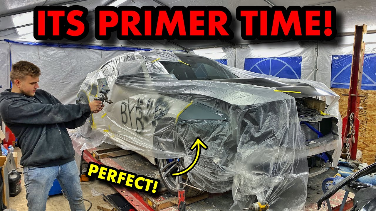 Rebuilding A 2018 BMW M4 Off Salvage Auction (Part 4)