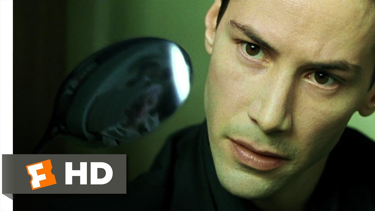 there is no spoon the matrix 59 movie clip 1999 hd