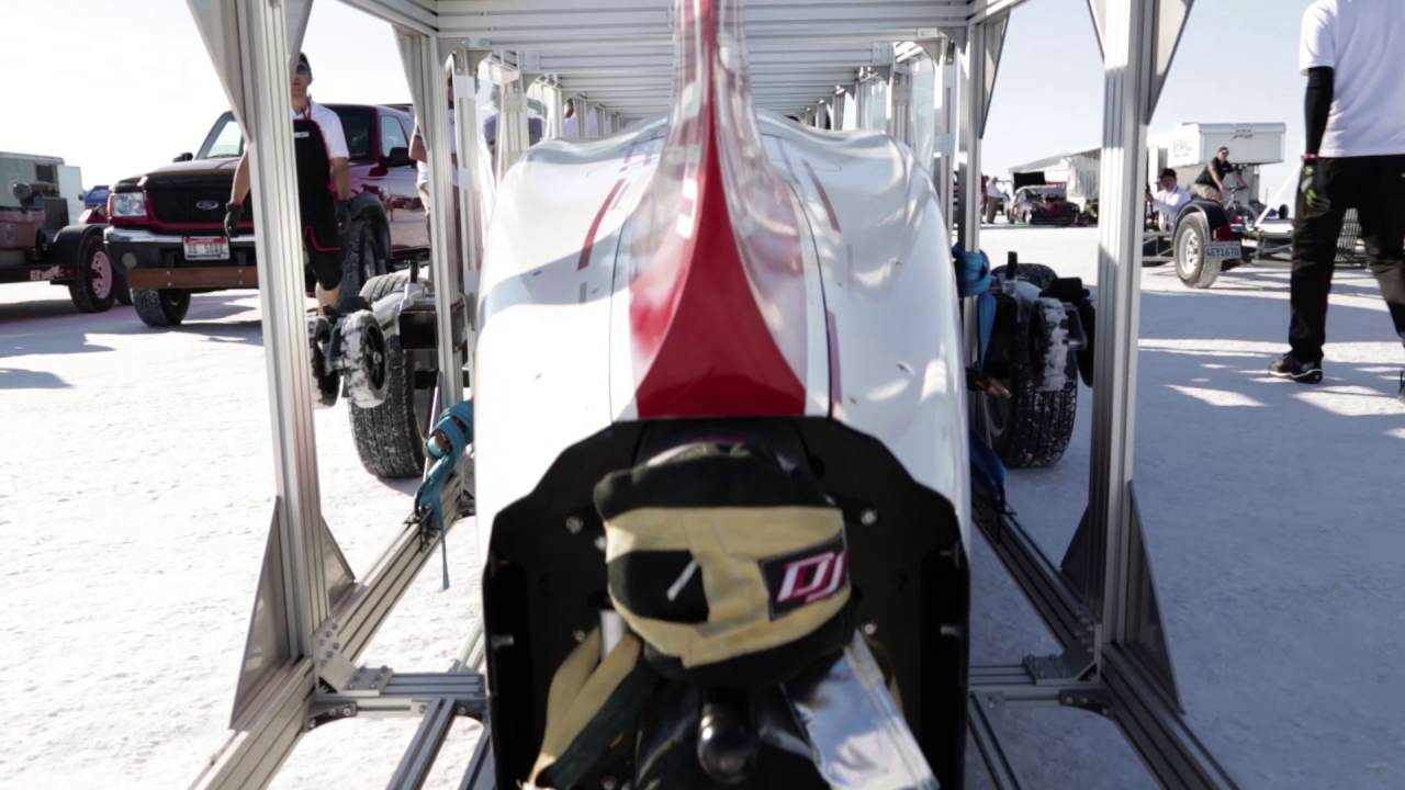 Mike Cook S Bonneville Shootout Fia公認 Land Speed Record にてfia