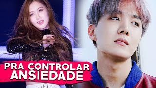 Músicas no K-POP pra controlar a ANSIEDADE...