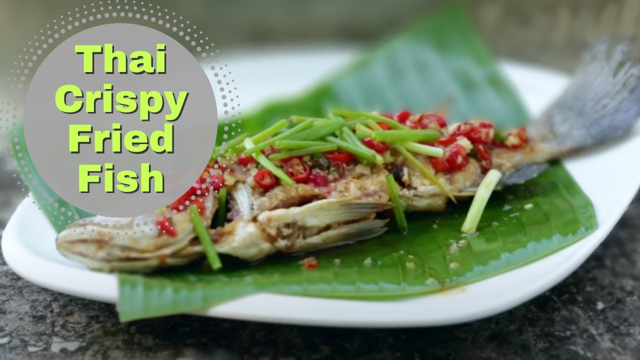 Thai food crispy fish with chilli sauce recipe youtube forumfinder Images