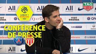 Conférence de presse Paris Saint-Germain - AS Monaco ( 3-3 )  / 2019-20