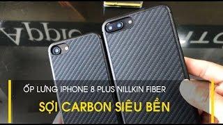 LÊ SANG | Ốp lưng iPhone 8 Plus / 7 Plus Nillkin Fiber bằng sợi Carbon siêu bền