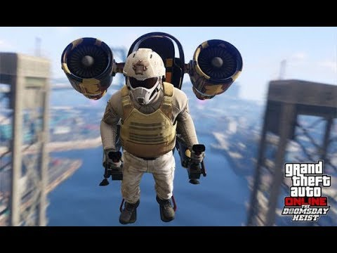 GTA 5 - MISSIONS BRAQUAGE DOOMSDAY DLC  +Funny moment